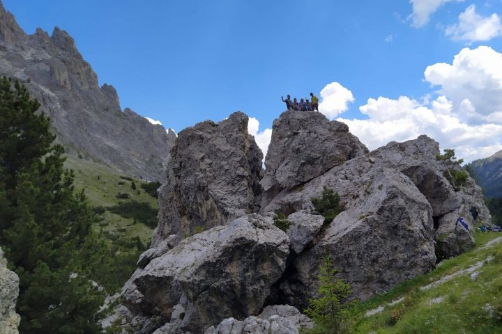 Vertical time – with the Mountain Guides