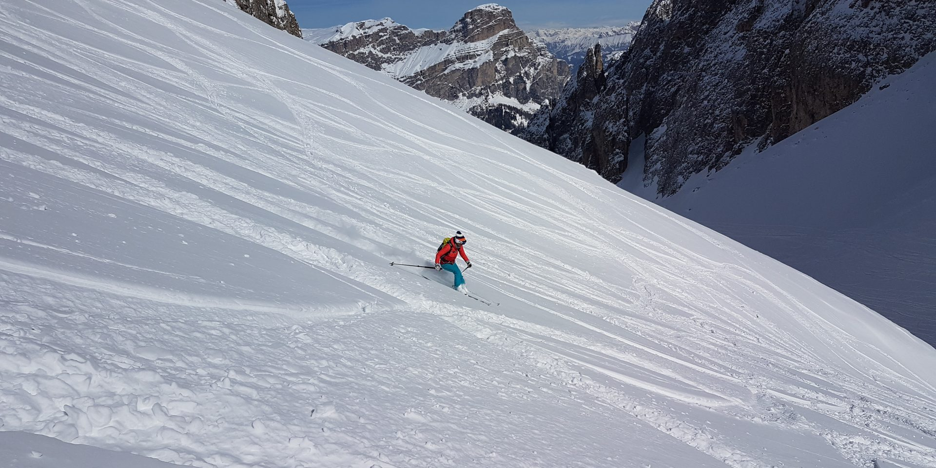 Freeride in Val Mezdì
