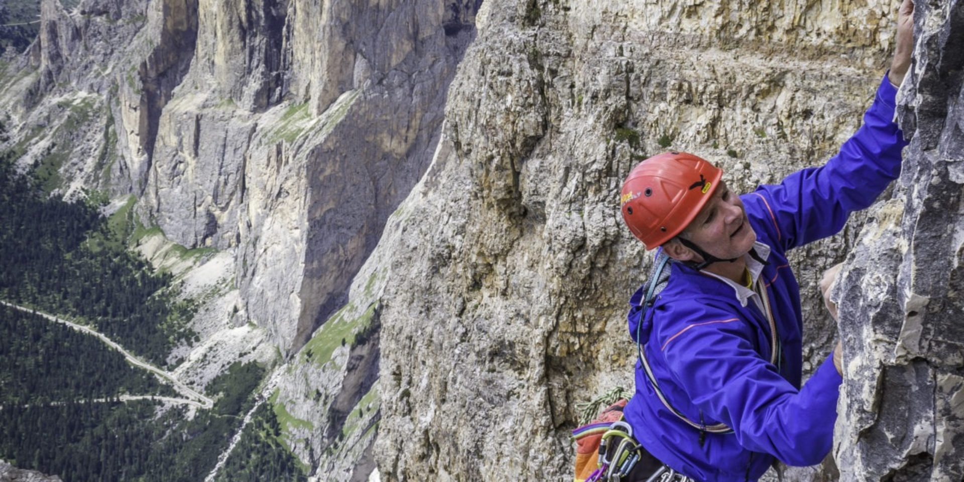 Classic and modern routes in Dolomites