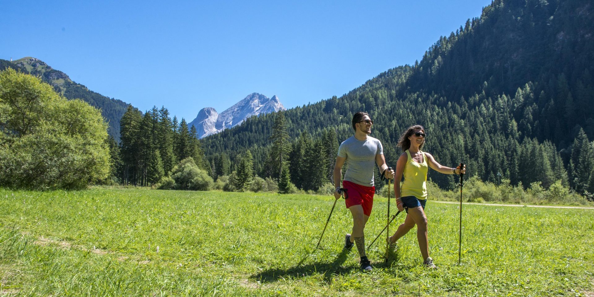 Private or couple nordic walking lesson