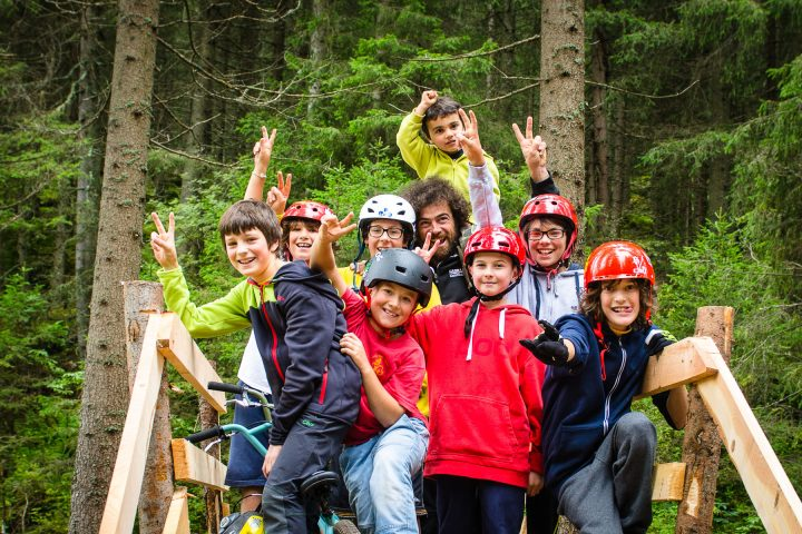 MTB course for children and youngsters