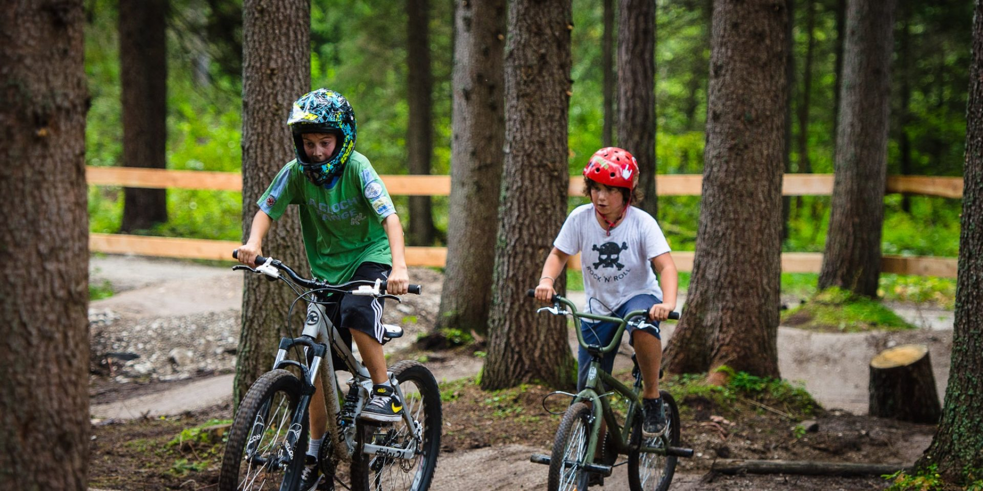 MTB test day for children and youngsters
