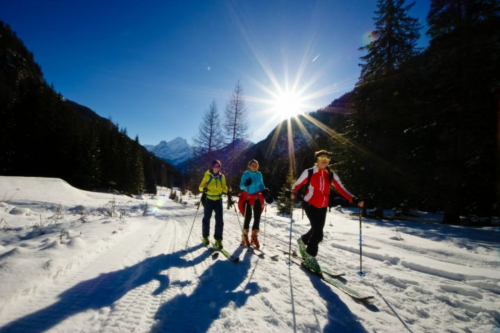 Approach to ski mountaineering