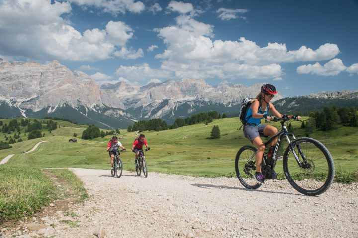 Sassolungo and Alpe di Siusi Tour in e-bike