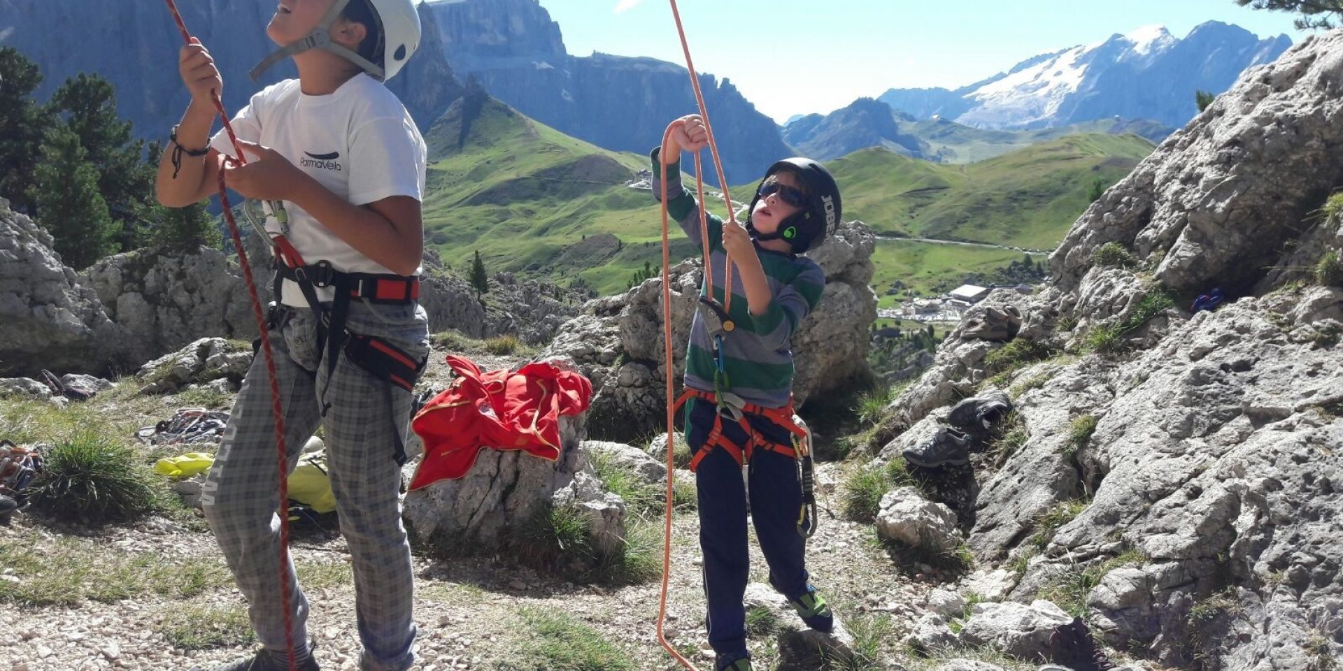 Climbing courses for children and youngsters