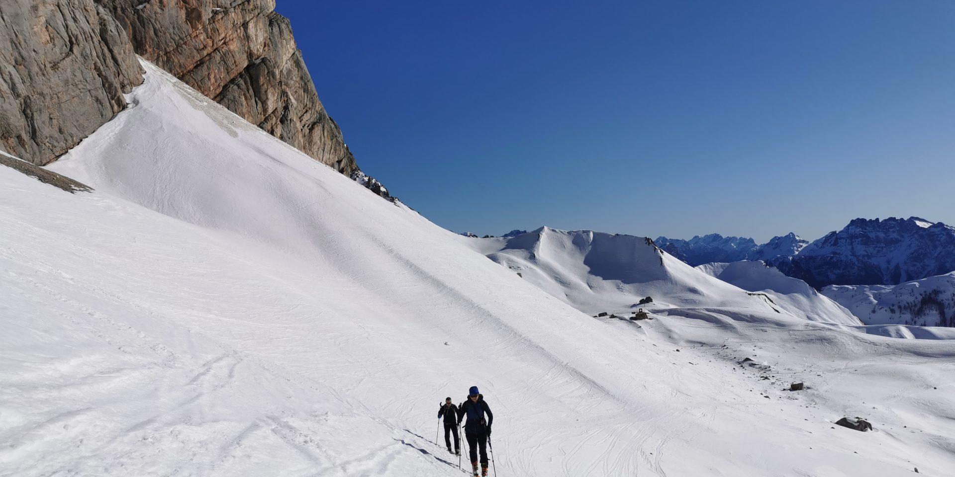 Ski mountaneering on the best Dolomites' peaks
