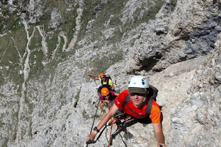 Via Ferrata MEDIUM level
