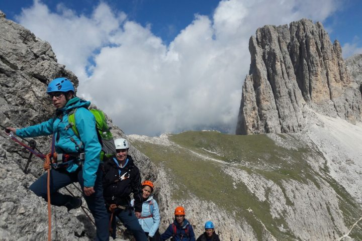 2-day trek with via ferrata – 1 night in refuge