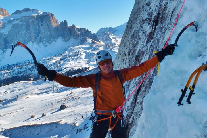 Weekend introduttivo all'arrampicata su ghiaccio