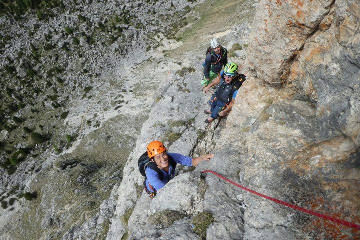 (Italiano) Corso roccia base o avanzato – 5 giorni