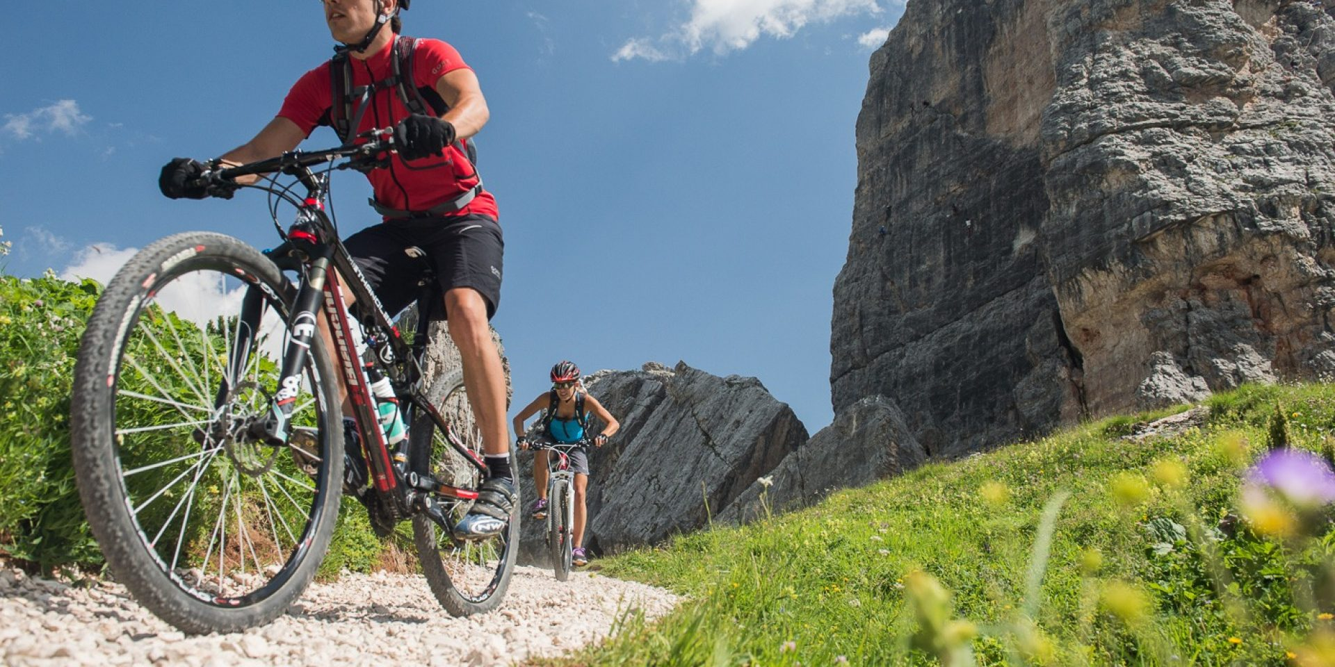 Sellaronda MTB tour in senso antiorario