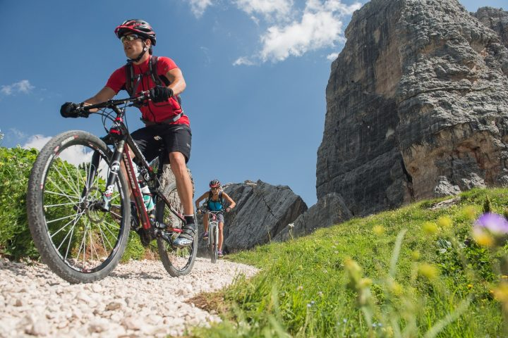 Sellaronda MTB Tour counter-clockwise