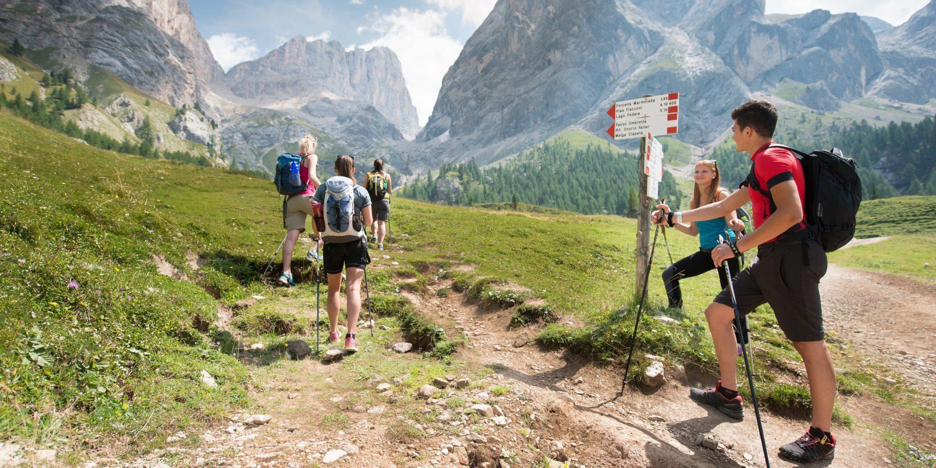Zaino in spalla! in gita sulle Dolomiti