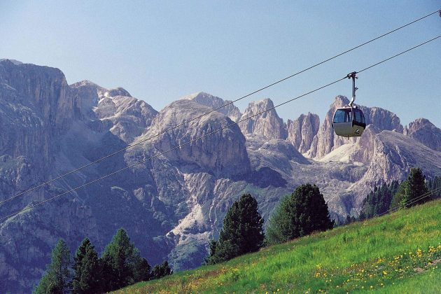 High altitude activities using the lifts